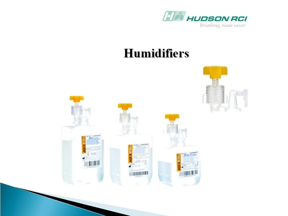 ชุดให้ความชื้นระบบปิด Aquapak แบบ Humidifiers